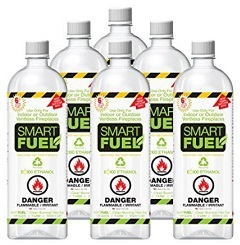 Smartfuel Pourable Liquid Bio-ethanol Fireplace Fuel