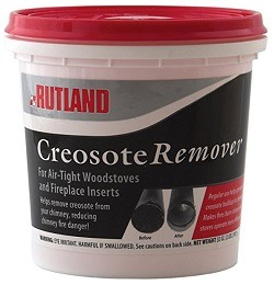 Rutland Dry Creosote Remover Chimney Treatment, 2-Pound
