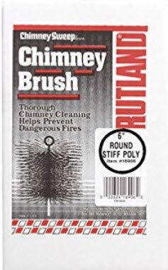 Rutland 16906 6 in Poly Chimney Cleaning Brush