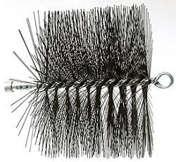 Rutland 16410 Round Wire Chimney Sweep Brush, 10-Inch by Rutland